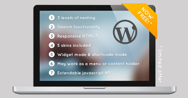 Responsive Searchable 3 Level Accordion For WordPress - 8